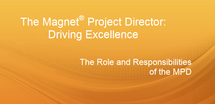 The Magnet Project Director: Driving Excellence