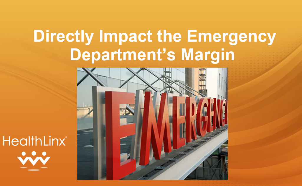 Directly Impact The Emergency Department's Margin