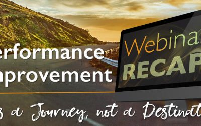 Performance Improvement Journey Webinar