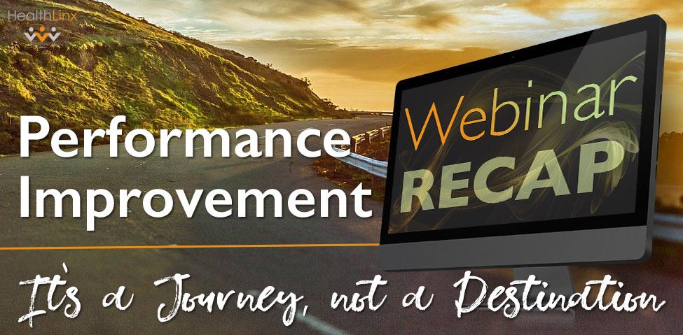 Performance Improvement Journey Webinar