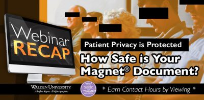 Patient Privacy is Protected – How safe is your Magnet® Document?